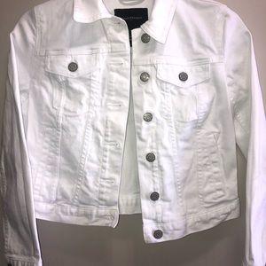 Banana Republic Denim white jacket-lightly worn
